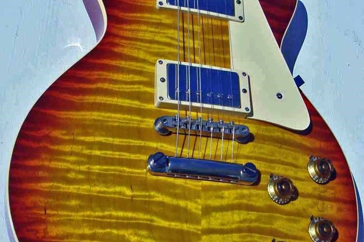 1959 Gibson Dave Johnson Les Paul Standard Six Strings Attached